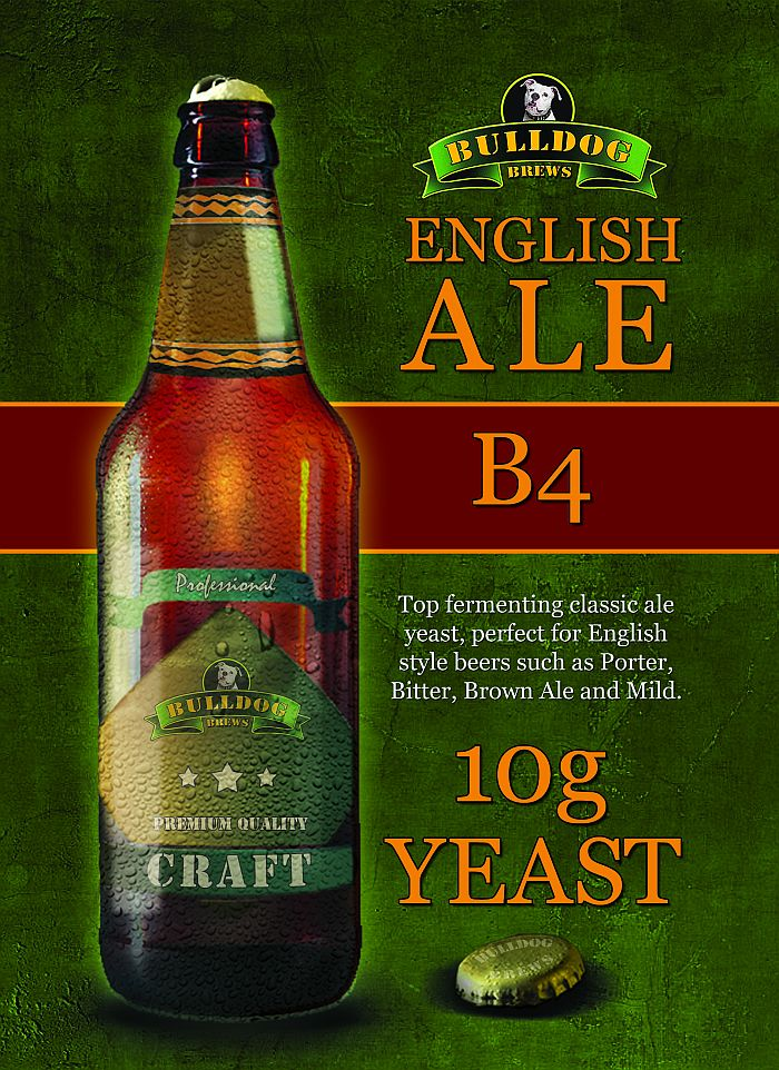 B4 English Ale yeast