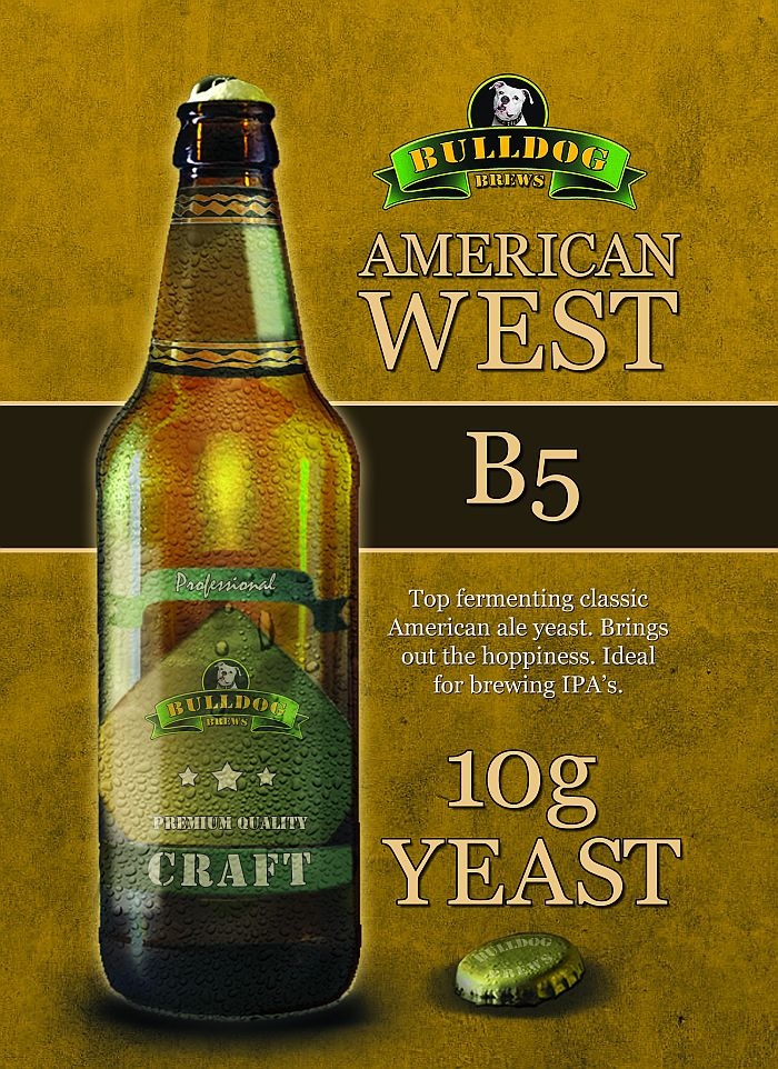 B5 American West beer yeast