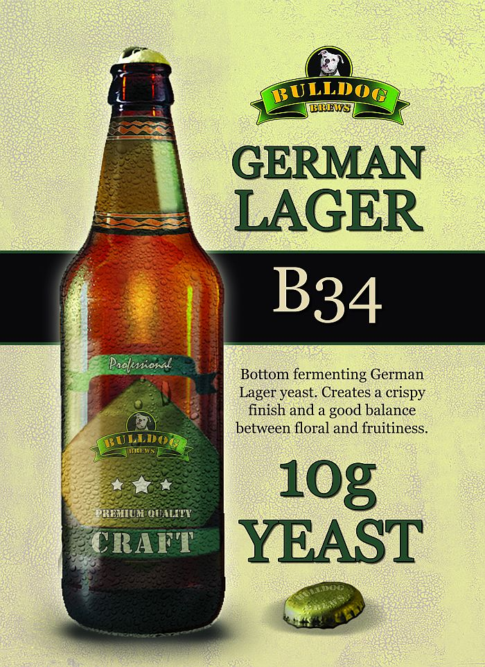 B34 German Lager yeast
