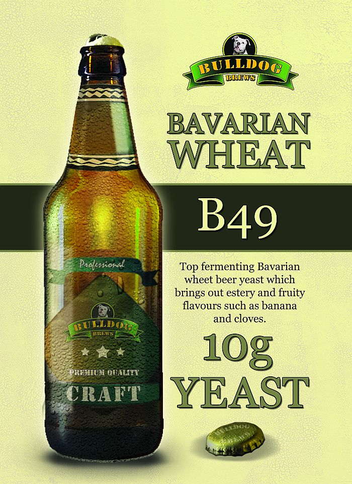 B49 Bavarian Wheat beer yeast