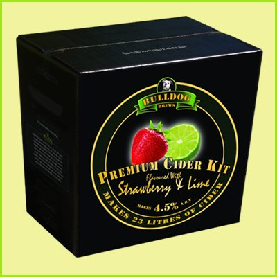 stawberry lime cider kit